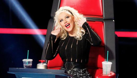 Christina Aguilera es una crack imitando