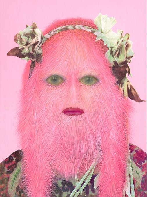Hairy Children Portrait