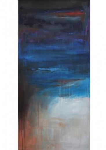 Bleu 161,5 x 131,6 cm