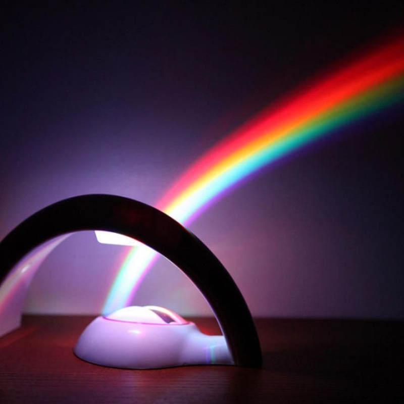7. Luz que produce un arco iris