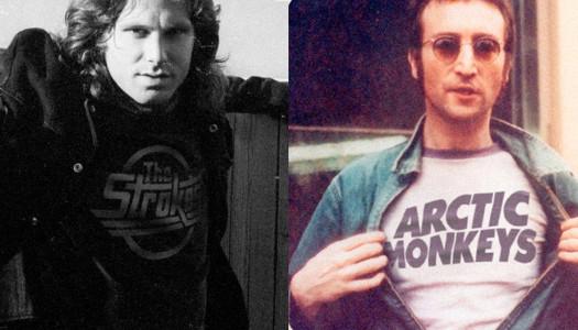 La influencia de las camisetas de bandas