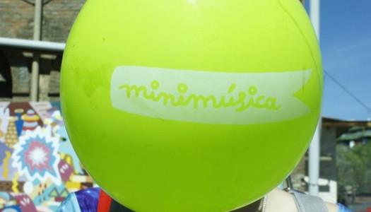 Minifestivaleros en el Día de la Minimúsica