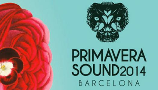 Desvelado el cartel completo del Primavera Sound 2014