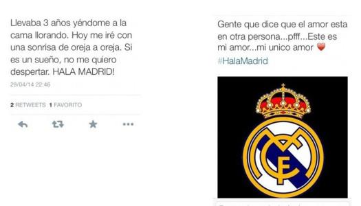 Twitter es testigo del amor friki de los madridistas