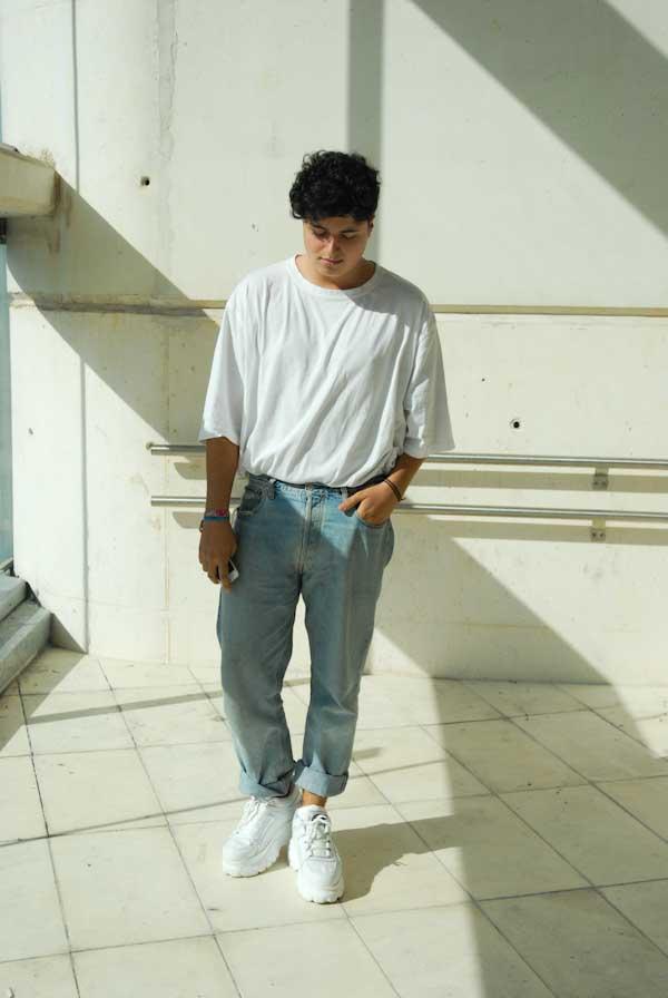 Marcos Iglesias estudiante de moda