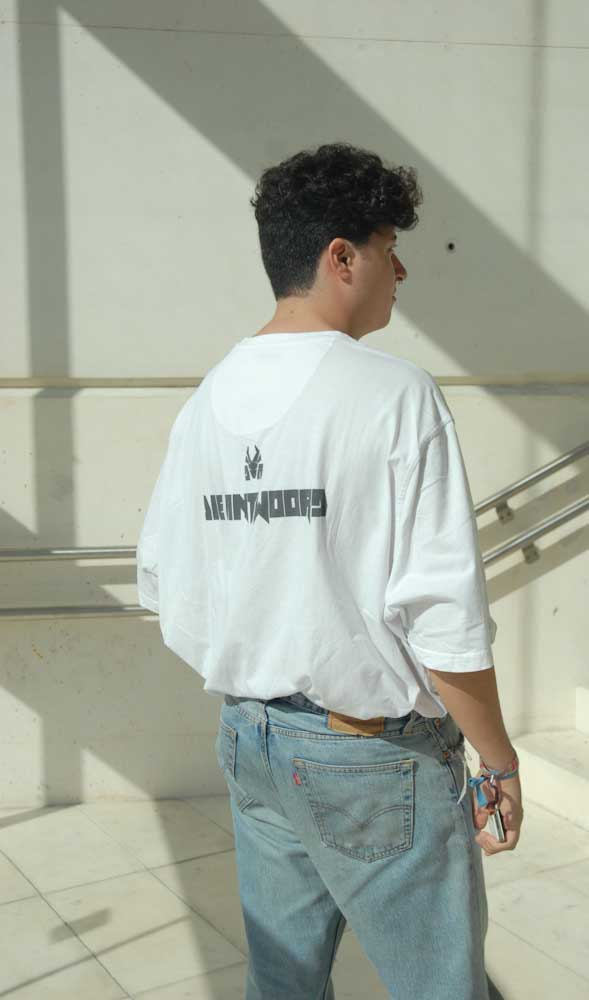 Detalle de a camiseta de Marcos