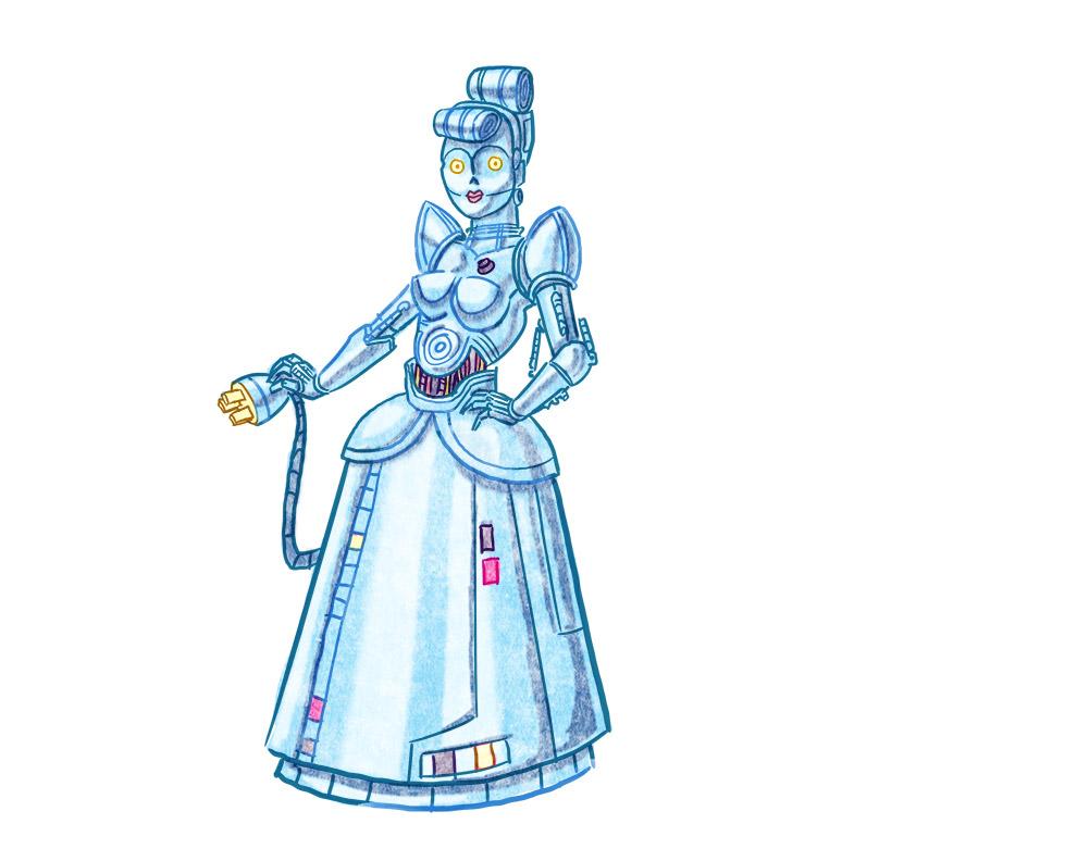 Protocol Droid Cinderella