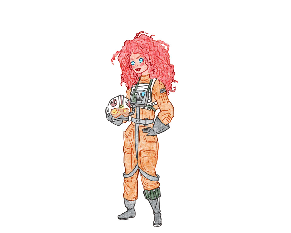 Rebel Pilot Merida