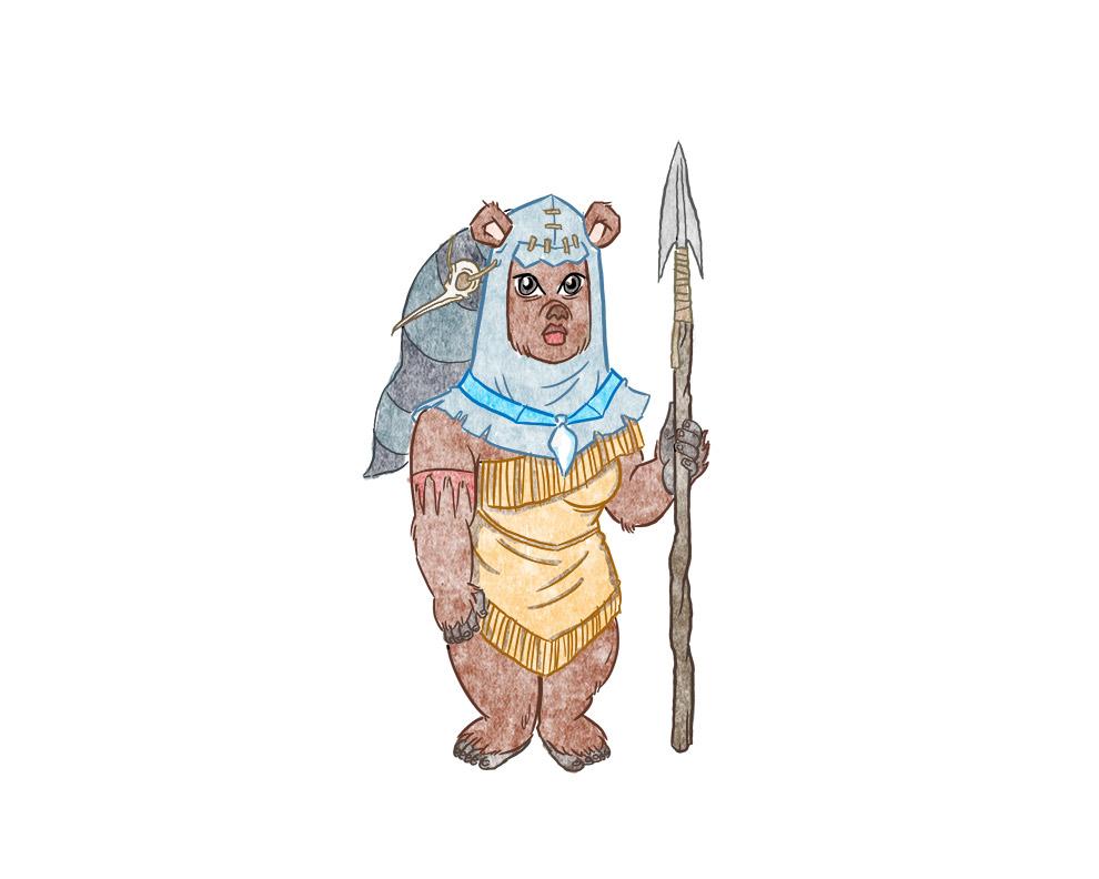 Ewok Pocahontas
