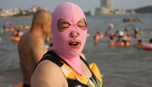 El facekini, el nuevo aliado de las mujeres chinas