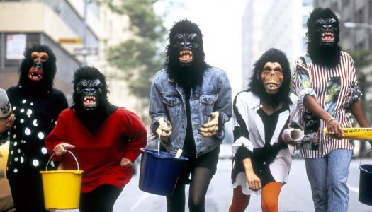 ¿Quiénes son esas mujeres disfrazadas de gorila?