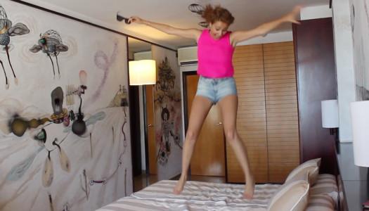 Deshacemos las camas del Hotel Estela en Sitges