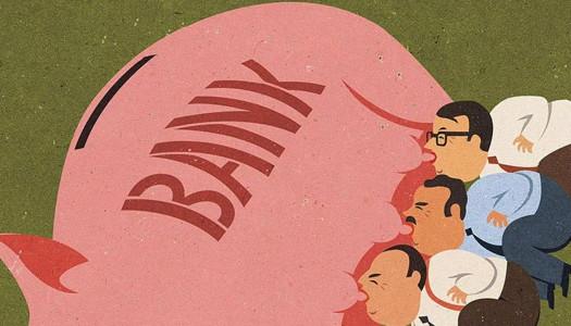 Ilustraciones satíricas de hoy al estilo cincuentero