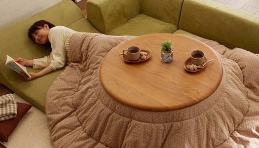 ¿Frío en casa? Prueba el Kotatsu