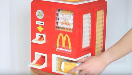 Máquina expendedora de nuggets de LEGO