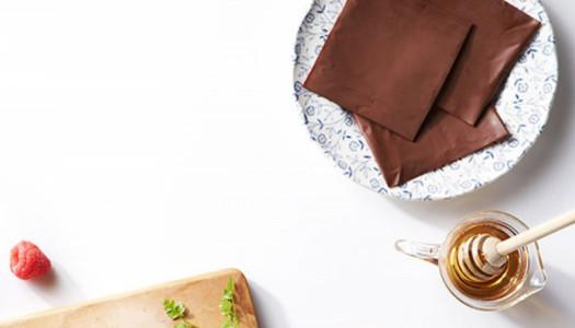 Lonchas de chocolate para comer
