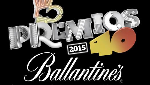 Fiesta nominados Premios 40 Ballantines