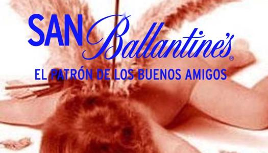 Abrazos a desconocidos por San Ballantines