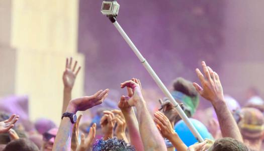 Prohibidos los selfies en festivales