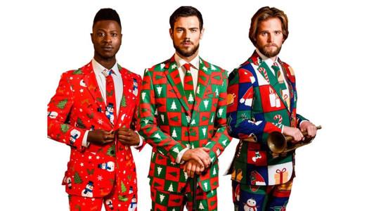 Ugly suits para Navidad