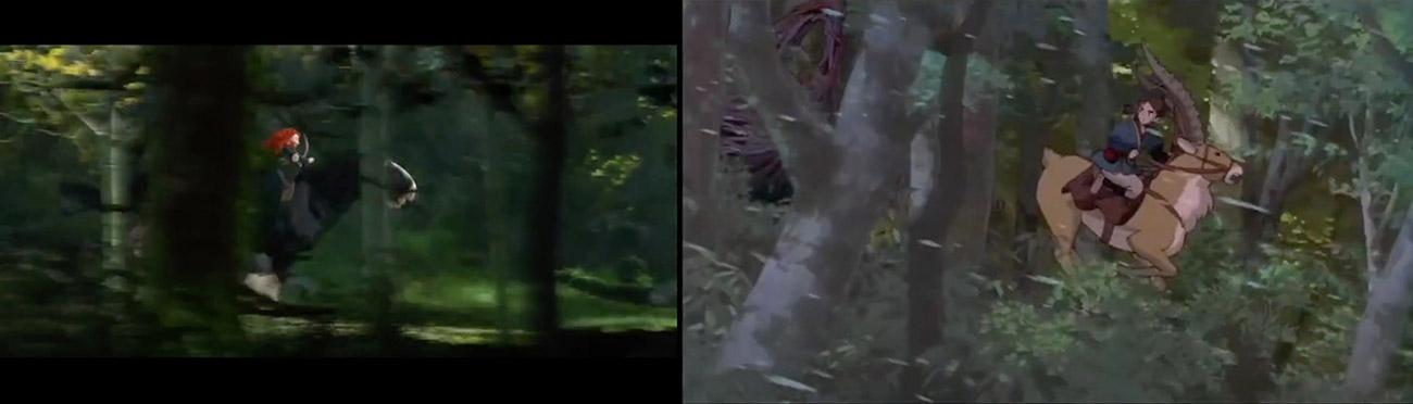 Brave (2012) : Princesa Mononoke (1997)