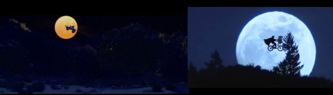 Cars (2006) : E.T. El extraterrestre (1982)