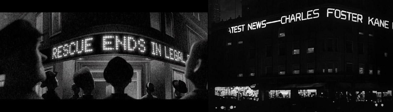 Los increibles (2004) : Ciudadano Kane (1941)