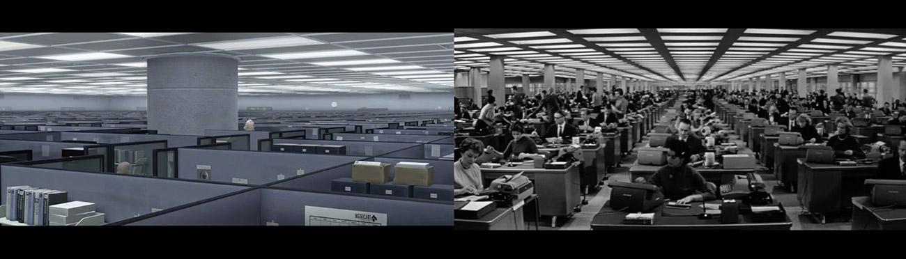 Los increibles (2004) : El apartamento (1960)