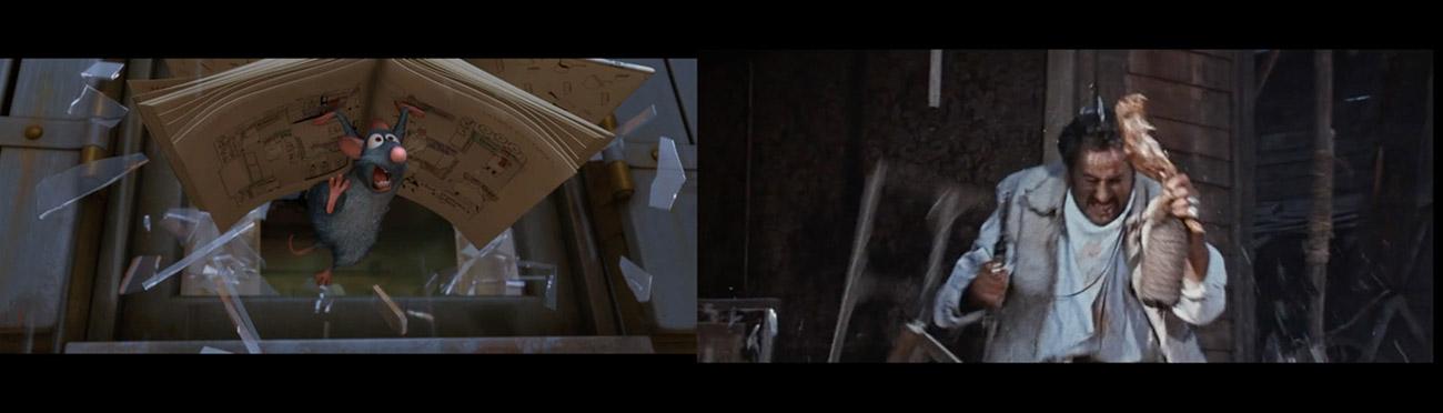 Ratatouille (2007) : El bueno, el feo y el malo (1966)
