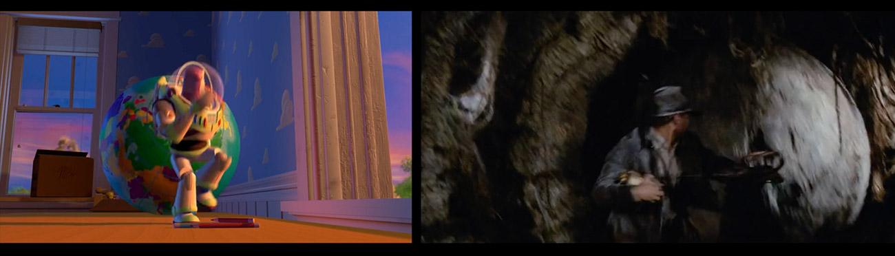 Toy Story (1995) : En busca del arca perdida (1981)
