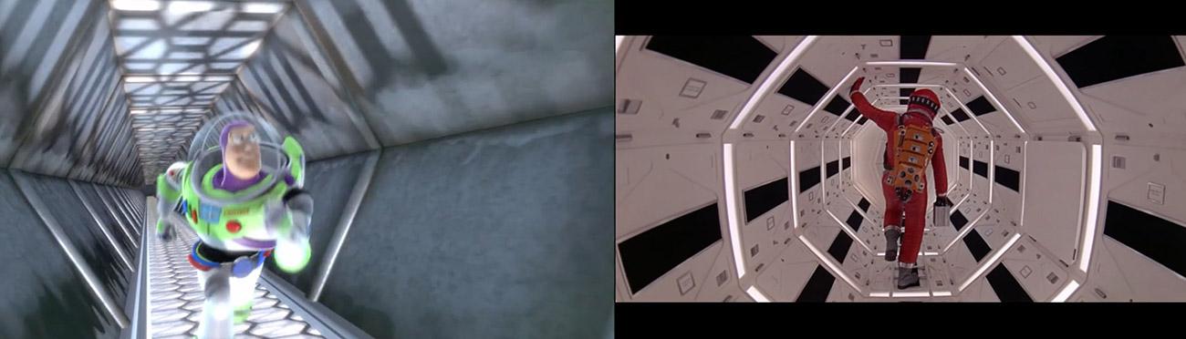 Toy Story (1999) : 2001 Odisea en el espacio (1968)
