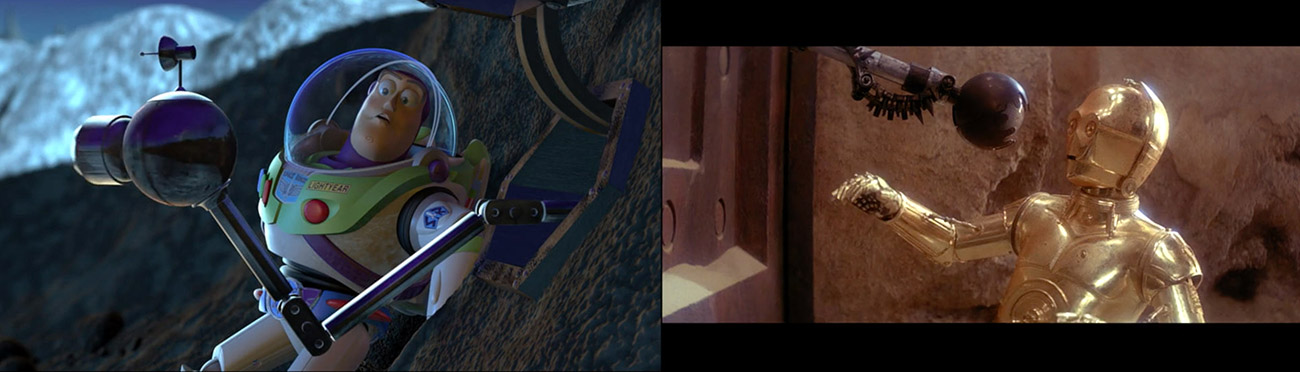 Toy Story 2 (1999) : El retorno del Jedi (1983)
