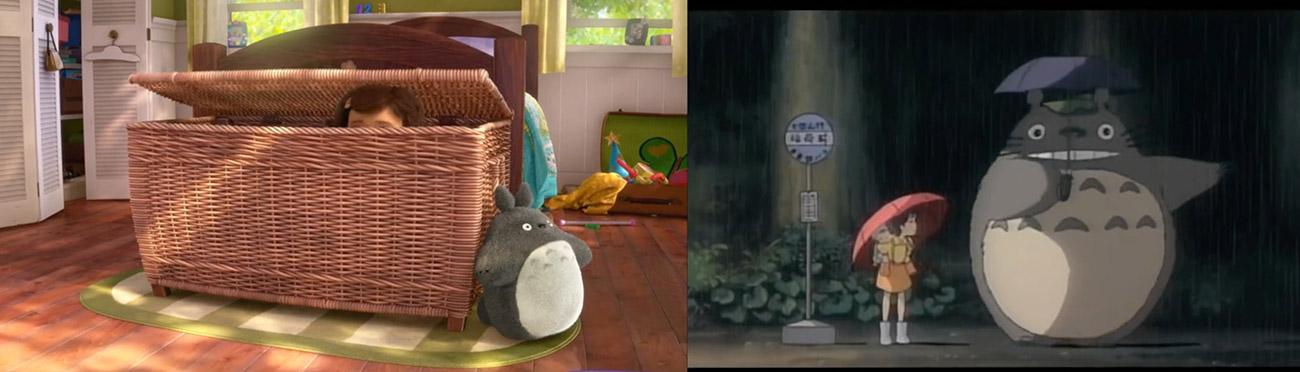 Toy Story 3 (2010) : Mi vecino Totoro (1988)