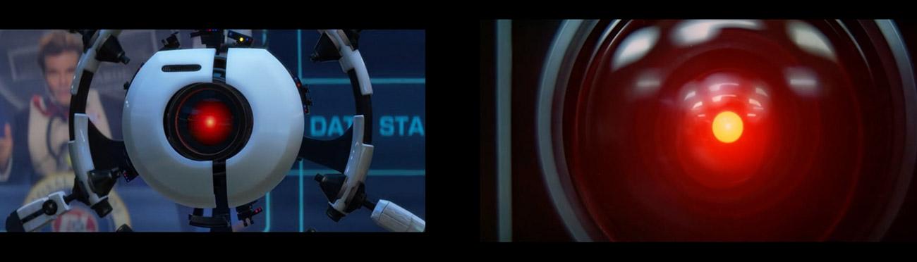 Wall-E (2008) : 2001 Odisea en el espacio (1968)