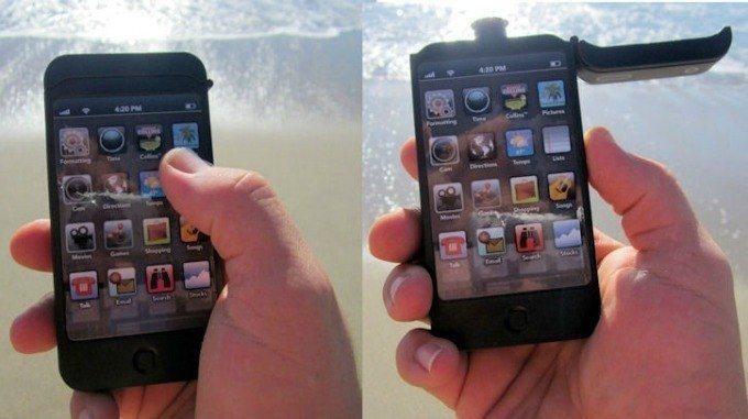 iPhone petaca