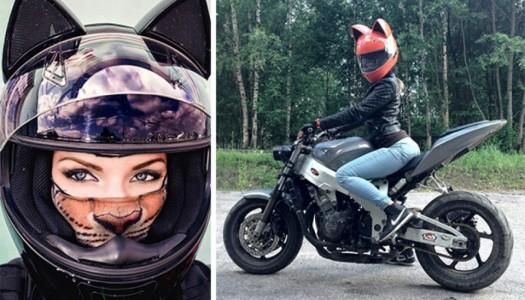 ¡Neko Helmets! (O cascos con forma de gatitos)