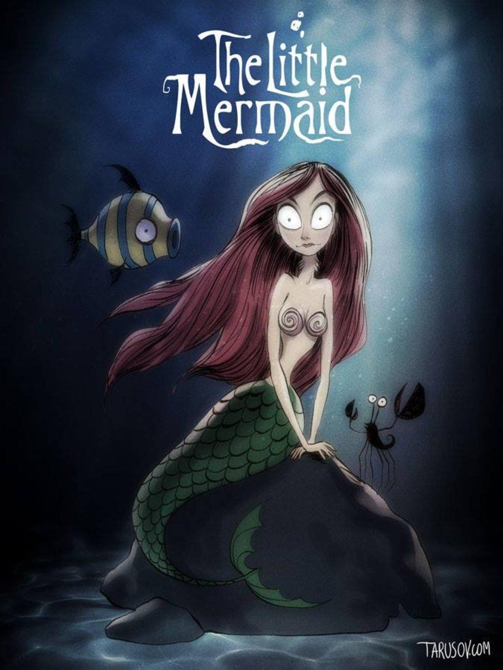 tim-burton-disney-reimagined-the-little-mermaid