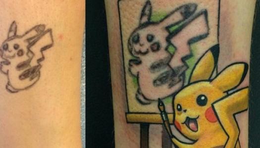 Los mejores mal tatuajes reconvertidos.