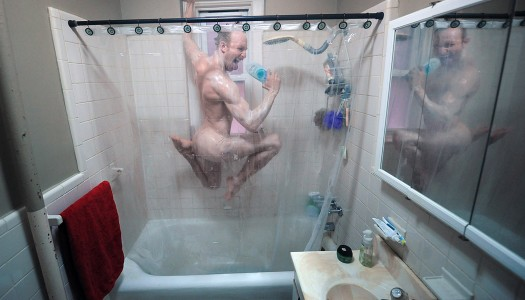 Una ducha colorida e inteligente para ahorrar agua