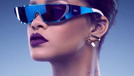 Riri y su nueva colección de gafas para Dior