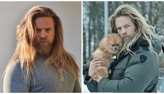 ¡Te presentamos al dios vikingo de Instagram!