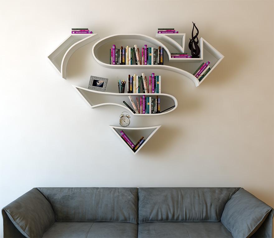 Estantería super-héroes (3)