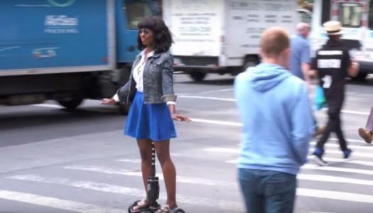 ¡Un dildo-patinete!