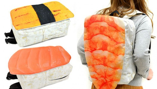 Una mochila sólo para los amantes del sushi