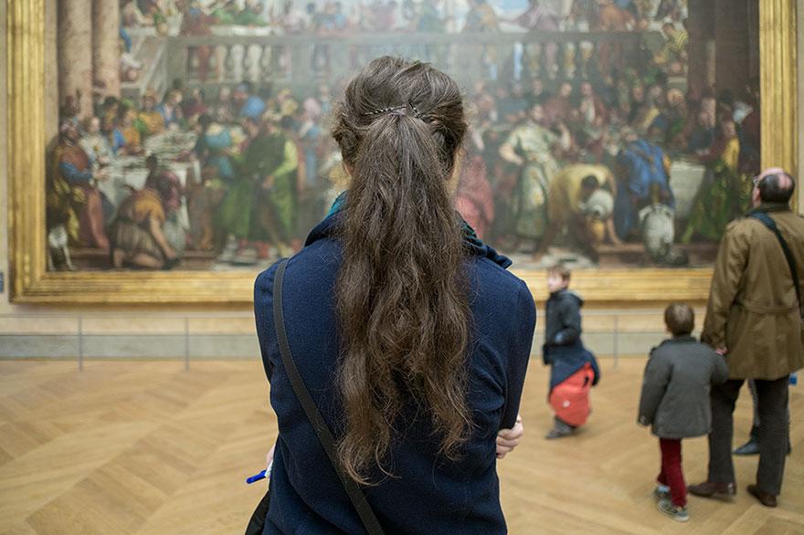La Mona Lisa, Louvre, Francia