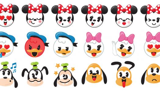 Los emojis de Disney ya están aquí