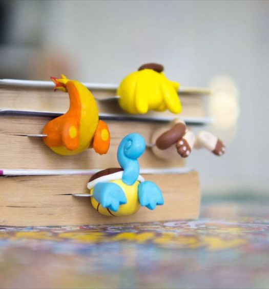 Pokémon Bookmarks  (3)