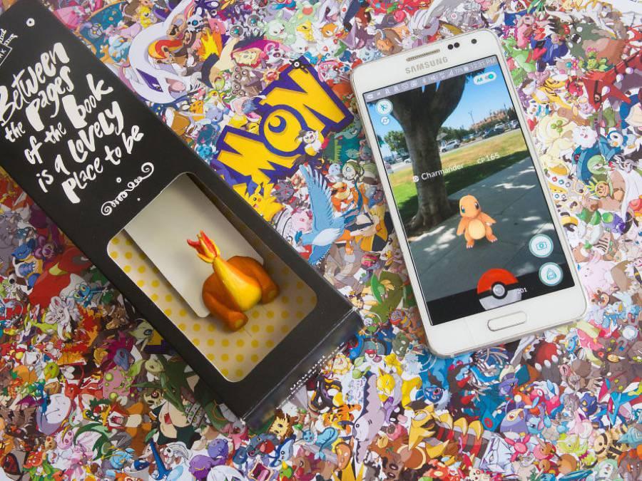 Pokémon Bookmarks  (4)