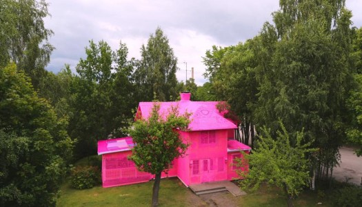 La casa de muñecas de Olek