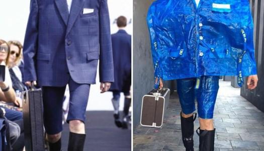 ¡Tom Lenk parodia los looks de las pasarelas de moda!